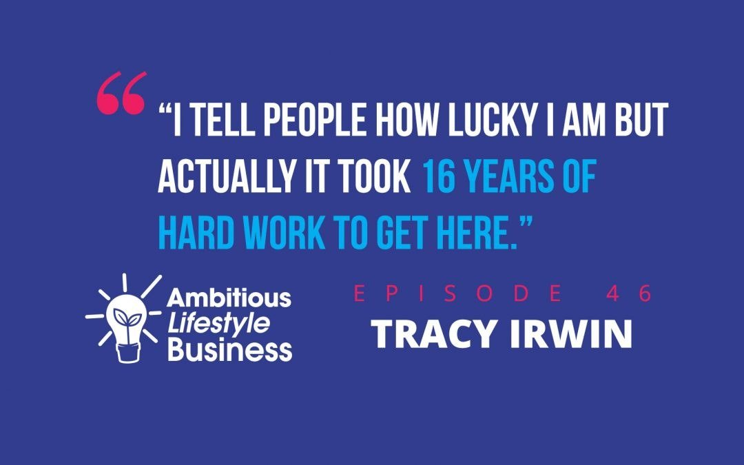 #ALB46 – How Tracy Irwin runs a UK business from Sunny Spain